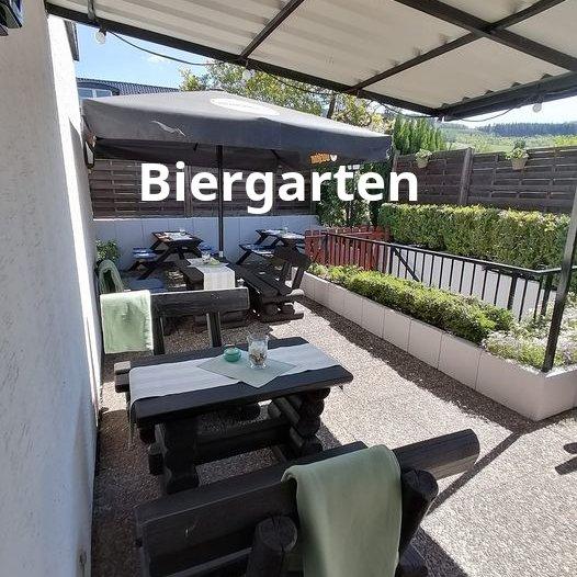 Biergarten in Bestwig - Gasthof Hengsbach