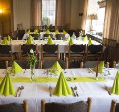 Platz für über 150 Personen und große Gesellschaften im Gasthof